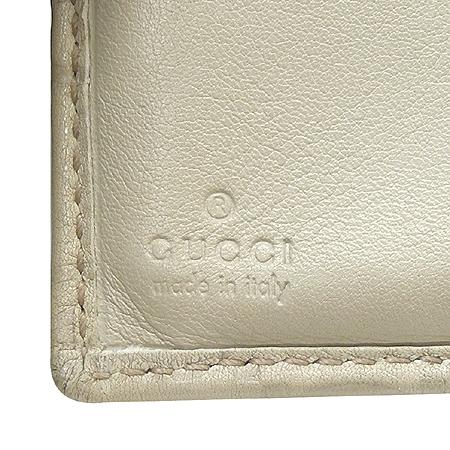 Gucci(구찌) 190347 GG 로고 시마 래더 3단 반지갑