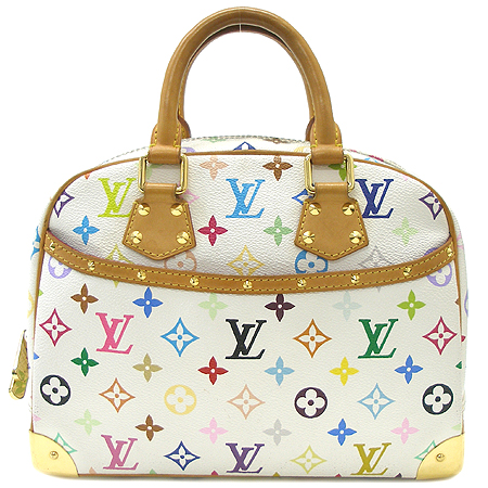 Louis Vuitton(루이비통) M92663 모노그램 멀티 컬러 화이트 트루빌 토트백 [대구반월당본점]