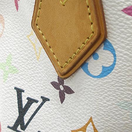 Louis Vuitton(루이비통) M40047 모노그램 멀티 화이트 오드라 토트백