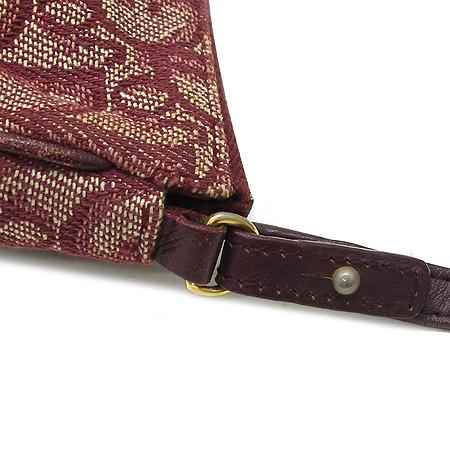 Dior(크리스챤디올) 로고 장식 패브릭 파우치 숄더백