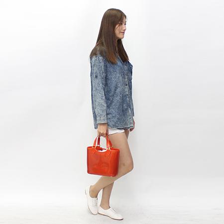 Louis Vuitton(루이비통) M92262 라구베이 에삐 에나멜 미니 토트백 + 보조파우치