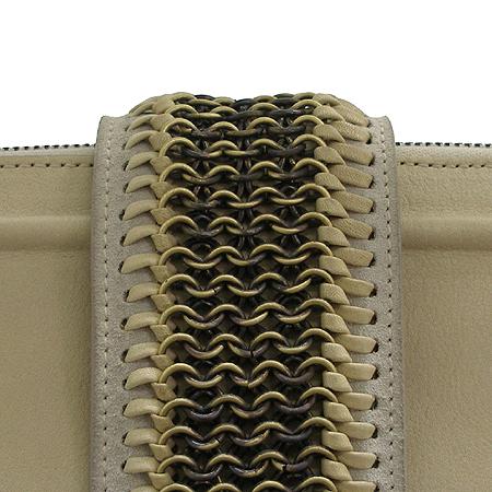 Dior(크리스챤디올) 잔느 금장 로고 벨트 장식 스웨이드 래더 토트 겸 숄더백 [부산본점]