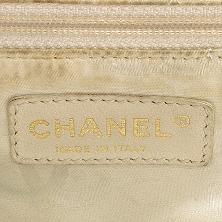 Chanel(샤넬) 로고 장식 패브릭 토트백