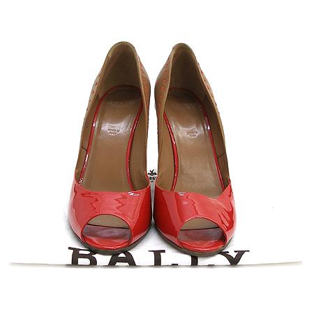 Bally(발리) Bally(발리) DENISA 에나멜 오픈토 여성용 웨지힐 구두