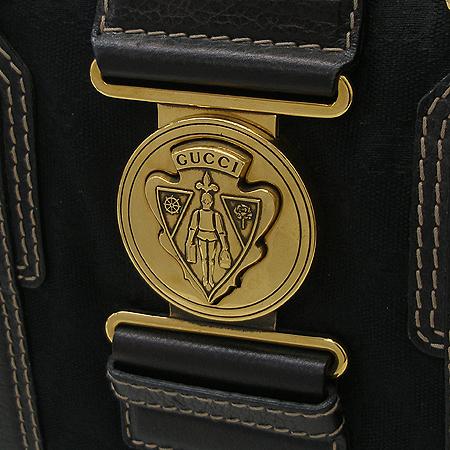 Gucci(구찌) 186235 GG 로고 자가드 금장 장식 토트백
