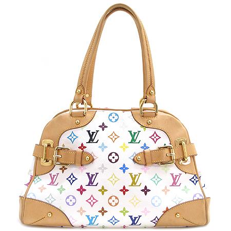 Louis Vuitton(루이비통) M40193 모노그램 멀티 컬러 화이트 클라우디아 숄더백 [부산센텀본점]