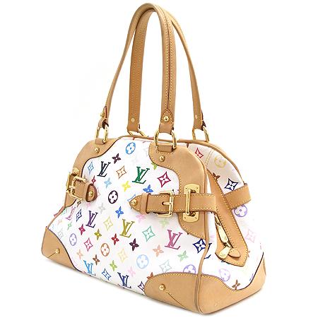 Louis Vuitton(루이비통) M40193 모노그램 멀티 컬러 화이트 클라우디아 숄더백 [부산본점]