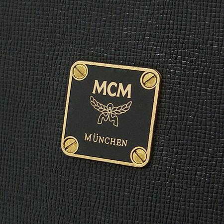 MCM(엠씨엠) 로고 플레이트 바겟 숄더백