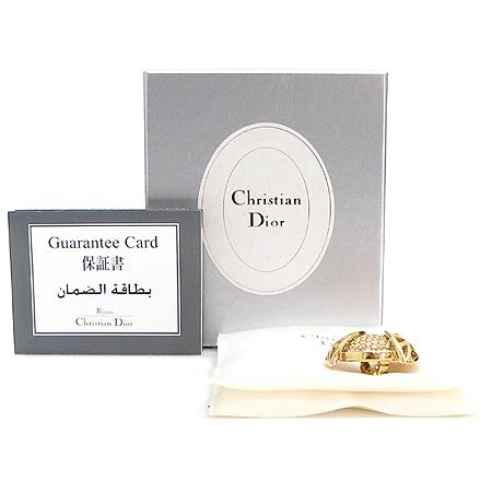 Dior(크리스챤디올) 금장 장식 브롯지