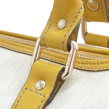 Gucci(구찌) 193604. GG 로고 PVC 보스톤 토트백
