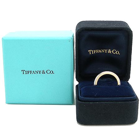 Tiffany(티파니) PT950(플래티늄)+18K 골드 콤비 밀그레인 3MM 반지 - 9호 [명동매장] 이미지2 - 고이비토 중고명품