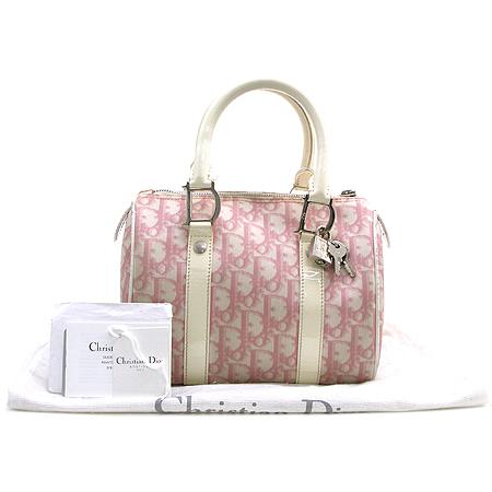 Dior(크리스챤디올) 로고 PVC 보스톤백