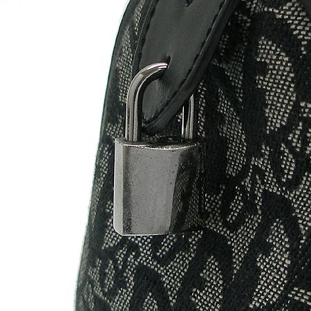 Dior(크리스챤디올) 로고 자가드 미니 보스톤 토트백