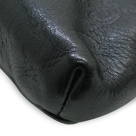 Gucci(구찌) 162916 GG 로고 블랙 시마 래더 원포켓 힙색 이미지4 - 고이비토 중고명품