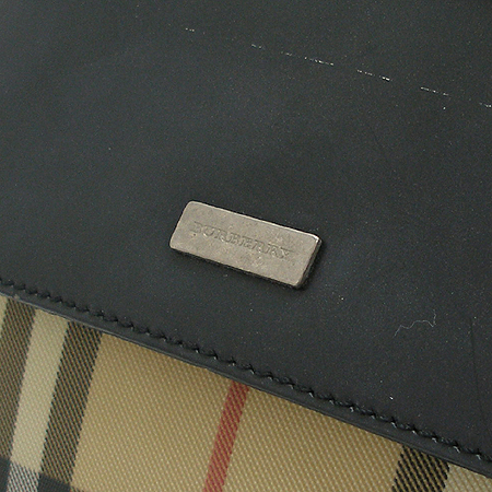 Burberry(버버리) 노바 체크 PVC 은장 로고 장식 숄더백