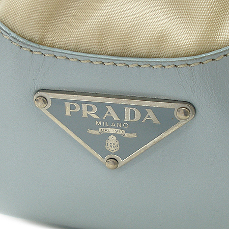 Prada(프라다) 패브릭 래더 트리밍 벨트 장식 토트 겸 숄더백 [강남본점] 이미지3 - 고이비토 중고명품