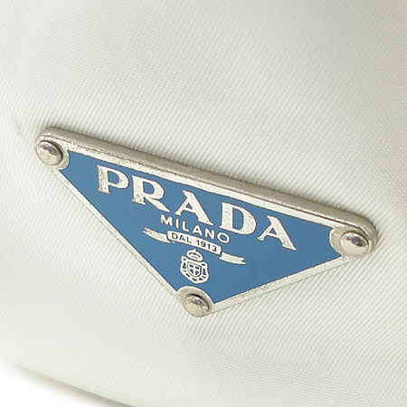 Prada(프라다) BR24525 패브릭 에나멜 스티치 벨트 장식 숄더백