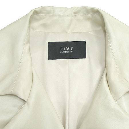 Time(타임) 트렌치 코트 (실크혼방) (허리끈 Set)