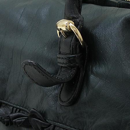 Gucci(구찌) 189847 다크 그린 램스킨 링클 장식 토트 겸 숄더백 [강남본점] 이미지3 - 고이비토 중고명품