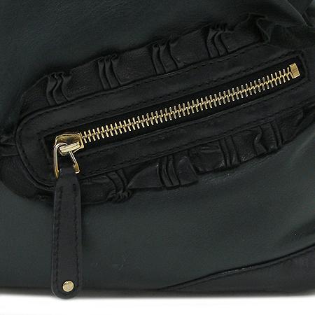 Gucci(구찌) 189847 다크 그린 램스킨 링클 장식 토트 겸 숄더백 [강남본점] 이미지4 - 고이비토 중고명품