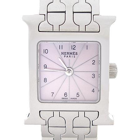 Hermes(에르메스) HH1.110 H-아워 자개판 여성용 스틸 시계
