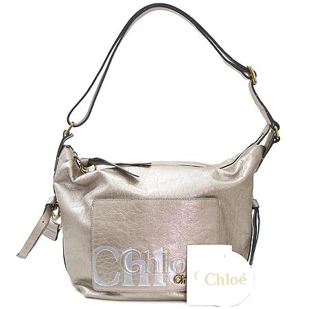Chloe(끌로에) 8AS524 8A850 이클립스 메탈릭 금장 로고 장식 숄더백 [부산본점]