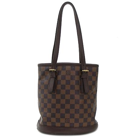 Louis Vuitton(루이비통) N42240 다미에 에벤 캔버스 바겟 숄더백 + 파우치[미아현대점]