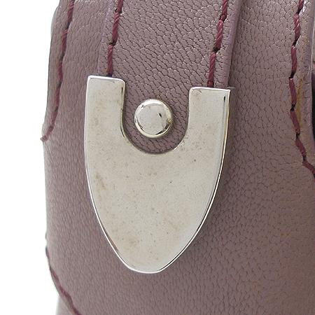 Bally(발리) LUCKY B 퍼플 래더 은장 로고 장식 숄더백 [강남본점] 이미지4 - 고이비토 중고명품