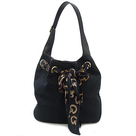 Gucci(구찌) 155563 GG 로고 자갸드 스카프 장식 숄더백