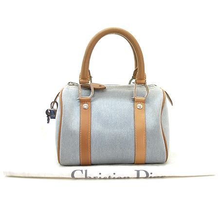 Dior(크리스챤디올) 데님 열쇠 보스톤 토트백 이미지2 - 고이비토 중고명품