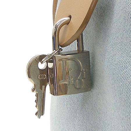 Dior(크리스챤디올) 데님 열쇠 보스톤 토트백