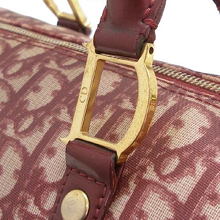 Dior(크리스챤디올) 로고 PVC 보스톤 토트백