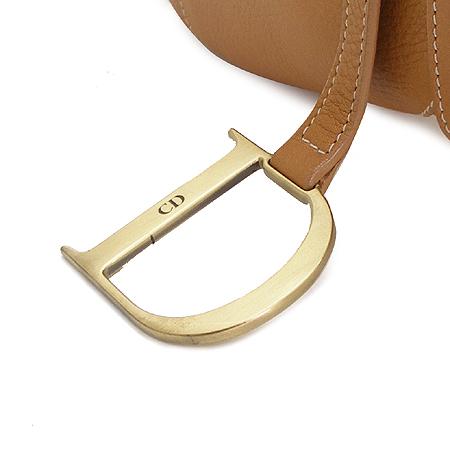 Dior(크리스챤디올) 브라운 래더 새들 숄더백