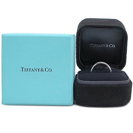 Tiffany(티파니) PT 950(플래티늄) 루시다 tiffany&co 이니셜  3mm 밴드 반지