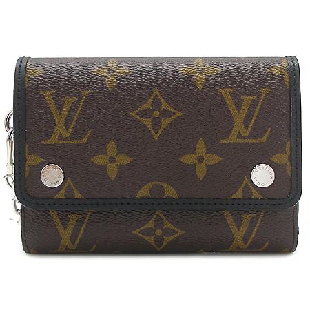 Louis Vuitton(루이비통) M60167 모노그램 마카사 캔버스 컴팩트 체인 월릿 반지갑