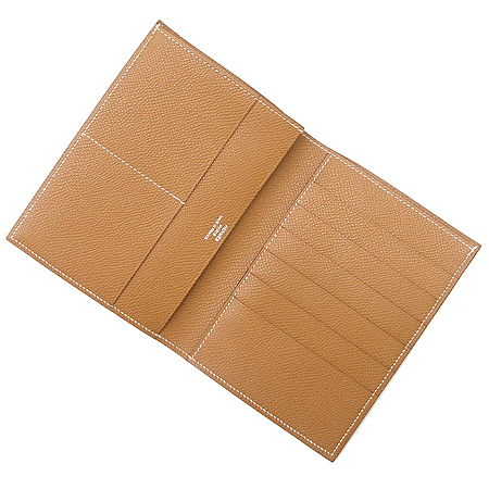 Hermes(에르메스) 카멜 레더 6크레딧 중지갑 [부천 현대점] 이미지3 - 고이비토 중고명품