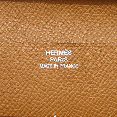 Hermes(에르메스) 카멜 레더 6크레딧 중지갑 [부천 현대점] 이미지4 - 고이비토 중고명품
