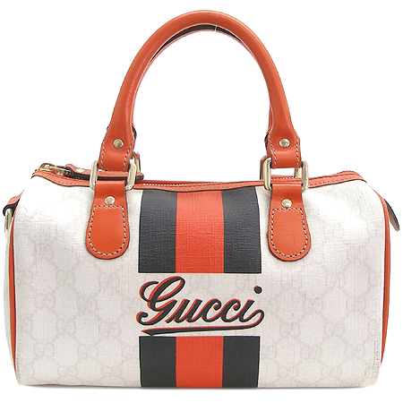 Gucci(구찌) 190257 GG 로고 PVC 보스톤 토트백