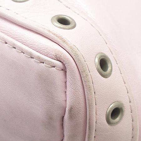 Vanessabruno(바네사부르노) 핑크 레더 토트백
