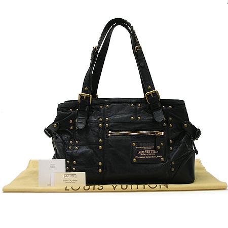 Louis Vuitton(루이비통) M95346 블랙 래더 시즌 한정 리베트 숄더백 [강남본점]