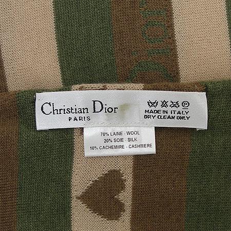 Dior(크리스챤디올) 실크 + 울 혼방 머플러