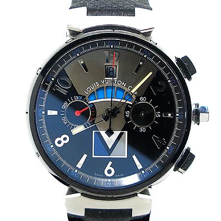 Louis Vuitton(루이비통) Q102G1 땅부르 LV컵 레가타 블랙 남성용 시계