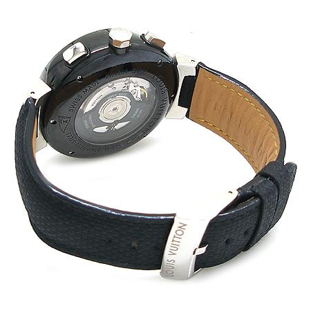 Louis Vuitton(루이비통) Q102G1 땅부르 LV컵 레가타 블랙 남성용 시계 이미지3 - 고이비토 중고명품