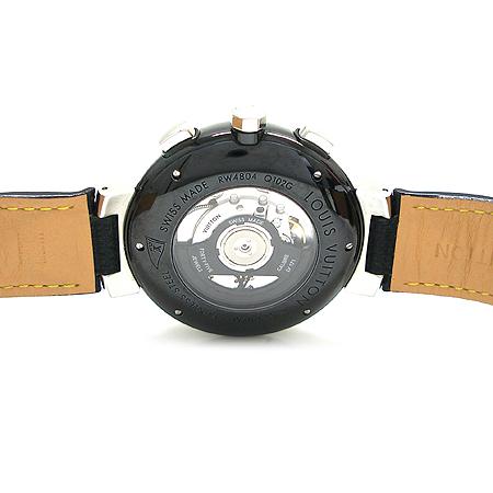 Louis Vuitton(루이비통) Q102G1 땅부르 LV컵 레가타 블랙 남성용 시계 이미지4 - 고이비토 중고명품