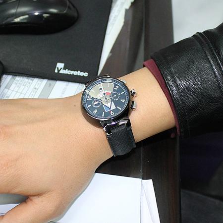Louis Vuitton(루이비통) Q102G1 땅부르 LV컵 레가타 블랙 남성용 시계 이미지7 - 고이비토 중고명품