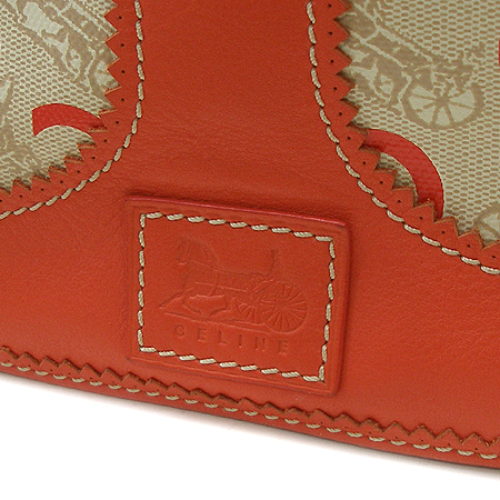 Celine(셀린느) 로고 패턴 PVC 래더 트리밍 토트백 + 크로스스트랩