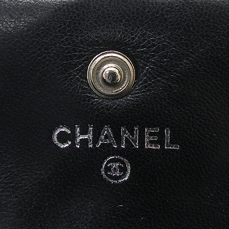 Chanel(샤넬) A37152X01012 블랙 페이던트 아이콘 반지갑