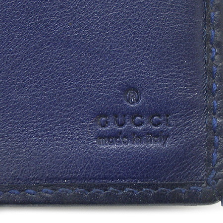 Gucci(구찌) 224187 GG 로고 시마 래더 머니클립 반지갑