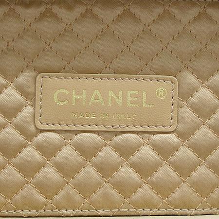 Chanel(샤넬) 금장 COCO로고 장식 퍼플 퀼팅 미니 다용도 케이스 + 체인 크로스 스트랩 [명동매장]