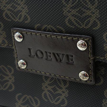 Loewe(로에베) 로고 패턴 PVC 래더 트리밍 토트백 + 미니파우치